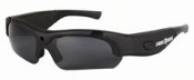 Lightweight eyewear with matte black frame and advanced mobile video recording system all-in-one!